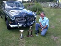 John Kemp Volvo 131 1968 winner Best car & Best engine day a terrific result for a very fine example.