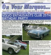 Classic Motor Monthly article