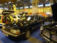 Colin's one-off Hearse, built from a 740 Estate owned by the Funeral director