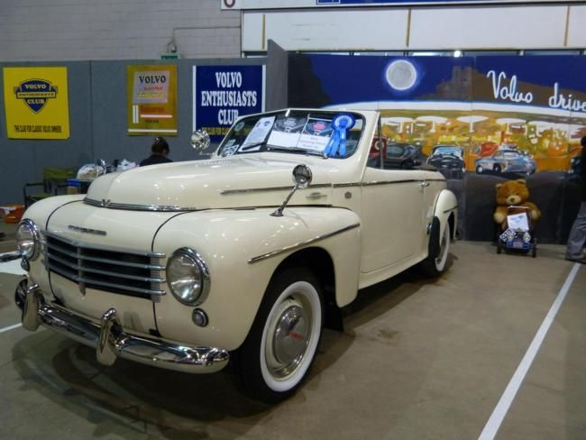 Extremely rare 1952 Volvo PV445 Convertible - Kevin Price
